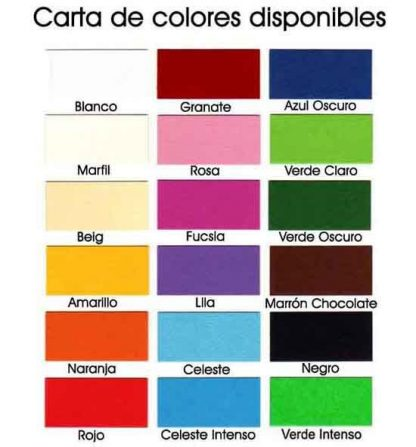 colores estuche napolitanas