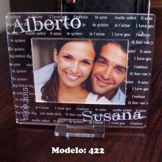 marcos personalizados para bodas