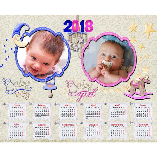 calendario personalizado 2018 gratis
