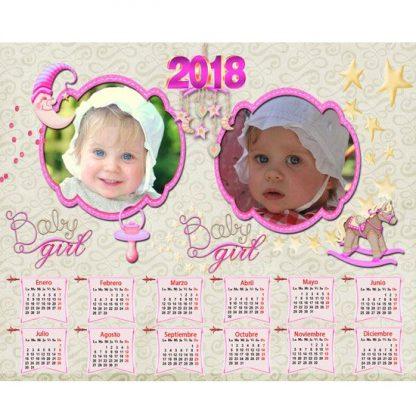 calendario con fotos personalizado