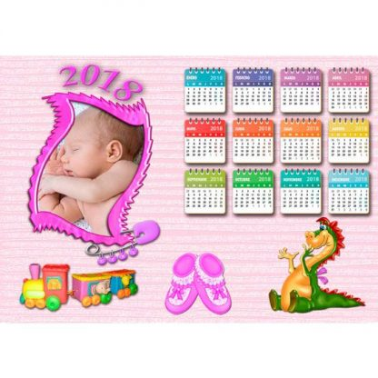 calendario 2018 gratis personalizado