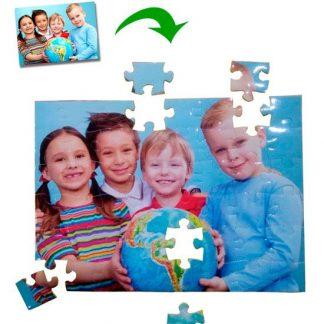 Puzzle de cartón personalizado