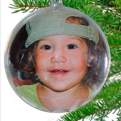 Bolas para el arbol de Navidad Personalizadas
