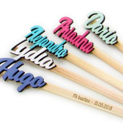 lápices para invitados